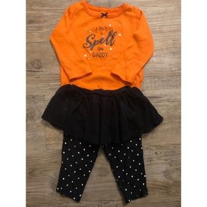 Girly Halloween Themed Outfit